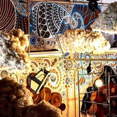 O Espaço Ungambikkula com a arte de Biel Siqueira