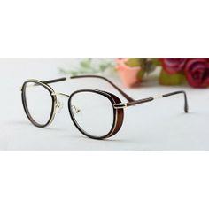 """Très belle paire de lunette factice de couleur noir dans un style d'aviateur. Avec renforcement latéral pour une meilleur protection contre le soleil et réduire l'effet """"d'éblouissement""""."""