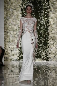 Reem Acra, collection hiver 2015 - Mariage.com - Robes, Déco, Inspirations, Témoignages, Prestataires 100% Mariage