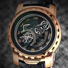 The Ulysse Nardin Freak Phantom is a juxtaposition of ingenuity and beauty carrying on the unexpected character of the Freak collection.  #freak #nardin #tourbillon #gold #photooftheday #phantom  @ulysse_nardin_boca @ulysse_nardin_aventura @ulysse_nardin_miami @ulysse_nardin_nyc @ulyssenardinkz @ulyssenardin_singapore @ulyssenardintr @ulyssenardinrussia @ulyssenardinitalia @ulyssenardinkg @ulyssenardin_middleeast @watchanish by ulyssenardinofficial