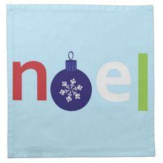 Noel Napkins #Noel #Christmas #Napkin