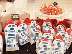 Lima Limão - festas com charme: The Force is strong with António: aniversário Star Wars!