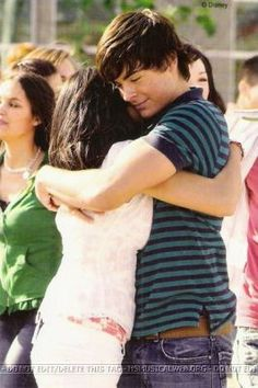 Troy and GAby hugging