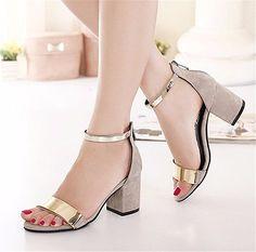 Zapatos blancos Tacón de aguja con hebilla formales Qiyun.z para mujer ZwOZ3hj0c