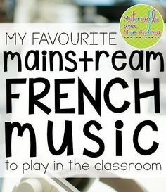 Classroom tips & tricks, resources and teaching ideas for the primary French classroom - immersion or French first-language How To Speak French, Learn French, Speak Spanish, French Teaching Resources, Teaching Ideas, High School French, French Songs, French Movies, French Language Learning