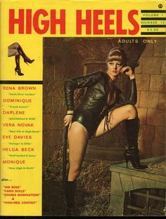 High Heels vol 1 no 12 1969 vintage adult straight magazine collectible