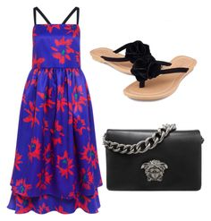 """""""beautiful day"""" by jameladams ❤ liked on Polyvore featuring Edit and Versace"""