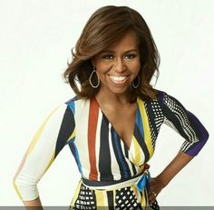 First lady Michelle Obama looking beautiful