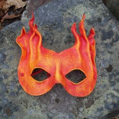 Leather Fire Mask