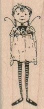 Unmounted Rubber Stamp Two Heads girls by pinkflamingo61 on Etsy