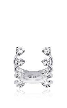 Delfina Delettrez Eight Dots Ring in Diamond on Moda Operandi
