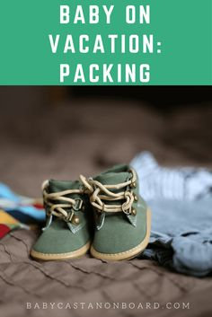 We took our first family trip across the country by plane to San Diego. Here are some tips for packing a baby for vacation.