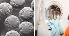 ¡No te lo vas a creer! Aspirinas para dejar tu ropa mucho más limpia y blanca.