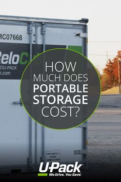 Information about portable storage units including sample costs and how rates are calculated. Moving Costs, Storage Units, Retirement, How To Find Out, The Unit, Beach, Life, The Beach, Retirement Age