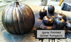 Easy DIY Glitter Pumpkins Craft at Mom Always Finds Out