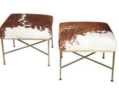 Cow Hide  and furniture sold at L Maison, 96 Portland Road, W11 4LQ  http://www.lmaison.london/