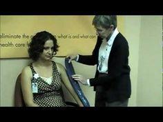 Blood Pressure Cuff Sizing Demonstration