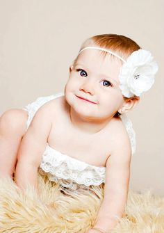 Snow White Sweet Briar Rhinestone Baby Headband by EllaBooCouture, $8.00