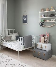 Love this beautiful child's room! String Pocket shelf available online. Love this beautiful child's room! String Pocket shelf available online. etagere STRING kids room Best Living Room Wall Decor Eeveryone LoveSET OF Woodland Nursery, Mountain Shelf,… Diy Zimmer, Little Girl Rooms, Home Decor Bedroom, Bedroom Ideas, Girls Bedroom, Room Inspiration, Baby Room, Kids Room, String Pocket
