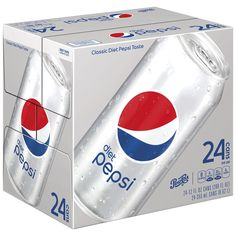 Diet Pepsi, 12 ounce Cans, 24 Count Diet Pepsi, Pepsi Cola, Best Soda, Baby Doll Accessories, Orange Soda, Mountain Dew, In Case Of Emergency, Calories, Sodas