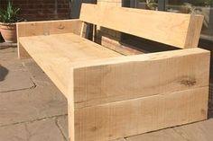 HomeMade Modern DIY Outdoor Sofa: 12 Steps (with Pictures) Diy Outdoor Furniture, Pallet Furniture, Garden Furniture, Outdoor Sofa, Outdoor Decor, Timber Furniture, Furniture Nyc, Cheap Furniture, Rustic Furniture
