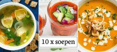 Geen inspiratie om te koken? Met een soepje zit je altijd goed; makkelijk en snel te maken en vaak ook erg gezond. De mogelijkheden zijn eindeloos. Van traditionele uiensoep tot een trendy gazpacho. Lees verder en laat je inspireren door deze verzameling van soepen. Zit jouw favoriete soep hier niet tussen? Kijk eens op de …