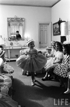 Charm School for Moppets: Arthur Rickerby in 1962 for LIFE