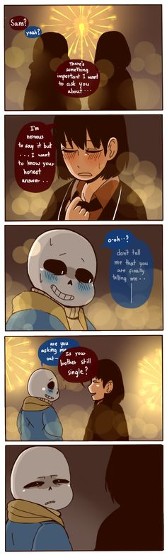 [Important] Sans and Frisk by wolfifi on DeviantArt