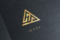 Maze Logo by Michael Rayback Design on @creativemarket