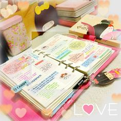 I'm starting to love the idea of having a Filofax more and more!