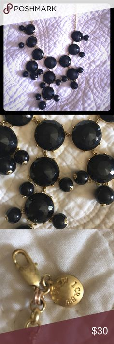 J Crew Black Bubble Necklace Beautiful, bold, J Crew Green Bubble Necklace. Used but in great condition, perfect statement piece to any outfit. No trades. J. Crew Jewelry Necklaces