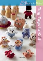 This gorgeous little knitting book by a very popular author contains irresistibly cute toys for knitters of all abilities. All of the projects are accompanied by a clear, easy-to-follow pattern and fun photography. There also will be a page of basic techniques at the start of the book, including making up, stuffing and some simple surface stitching.
