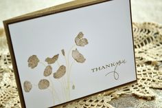 Created using Papertrey Ink Botanical Silhouettes