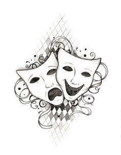 Image result for theatre tattoos