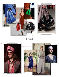TRND SS18 Trend Report - Accessories {Direction for the Contemporary, Young Contemporary, and Fast-Fashion market levels}  Shop the complete report here: http://www.thetrndforecast.com/new-products/trndspring2018forecast  #trends #trnd #thetrndforecast #spring2017 #runway #rtw #ss18 #contemporary #youngcontemporary #fastfashion #accessories #bags #headwear