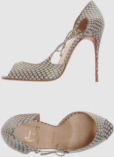 Christian Louboutin High in Beige | Lyst