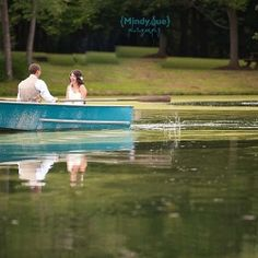 This outside pastel wedding was held next to a beautiful pond where they escaped for some alone time after their vows were shared.