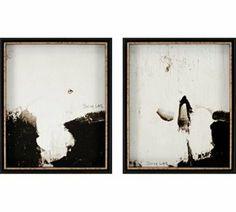 Edmund Modern / Contemporary Framed Wall Art / Wall Decor (Pack of 2) - XGPP-1694