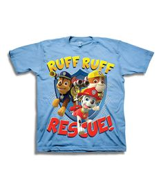 Love this Light Blue PAW Patrol Tee - Toddler by PAW Patrol on #zulily! #zulilyfinds