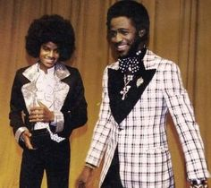 Micheal Jackson with Al Green