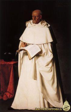 "Zurbaran, Fray Hernando de Santiago - a famous preacher whom Philip II called ""Golden Lips"" in admiration of his eloquence."