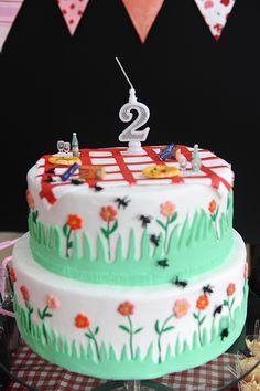 bolo de aniversário pic nic - Pesquisa Google