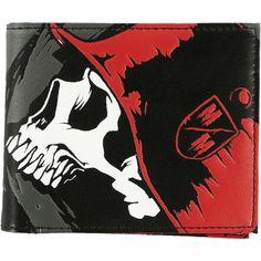 Metal Mulisha Men's Trusty Wallet ❤ liked on Polyvore featuring men's fashion, men's bags, men's wallets, mens bifold wallet, bi fold mens wallet and mens wallet