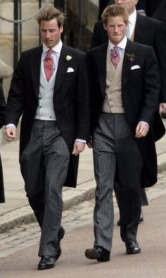 Prince William and Prince Harry, they are fashion Icons....They are always looking great,,,,,