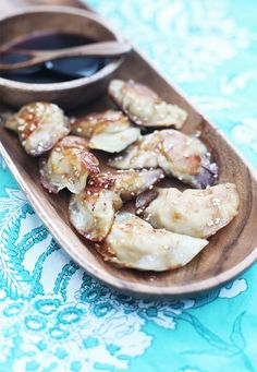 Superbowl food! Sesame Chicken Potstickers Recipe