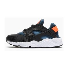 NIKE WMNS AIR HUARACHE (HYPER CRIMSON/SPACE BLUE) Sneaker Freaker ❤ liked on Polyvore featuring shoes, nike and sneakers