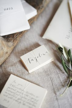 Chic paper suite for a destination wedding in Italy.