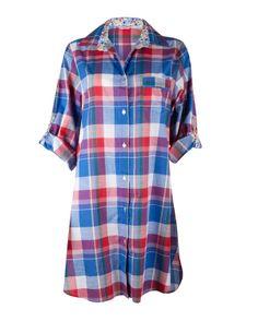 cfe2918bd3 Rebecca Check Nightshirt £27.00 Pajama Party