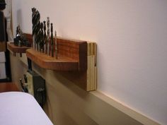 drill bit storage using french cleats