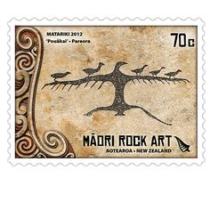 Matariki 2012 - Maori Rock Art | New Zealand Post Stamps